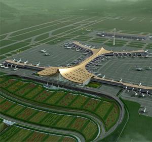 昆明新机场航站区航站楼