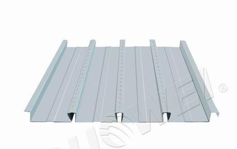 缩口型组合楼板