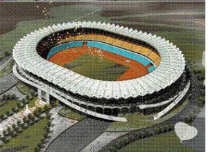 江苏天地坦桑尼亚国家体育场工程