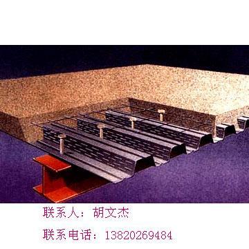 镀锌钢承板彩色压型板