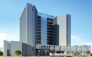 湘潭九华示范区创新创业中心创业大楼钢结构工程(总高82.4米)