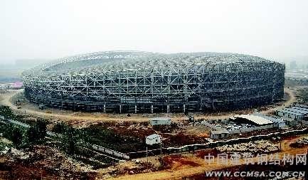 最大的钢结构桁架结构单体公共建筑