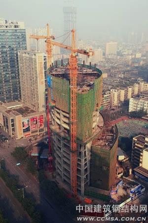 一高楼钢结构制作收尾