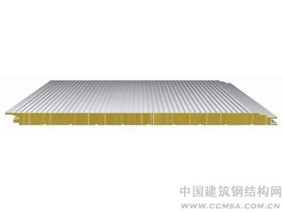 新型岩棉复合板  聚氨酯侧封板