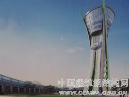 山东潍坊文化艺术中心观光塔工程