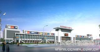 钢结构工程展示??山东临沂商城国际会展中心