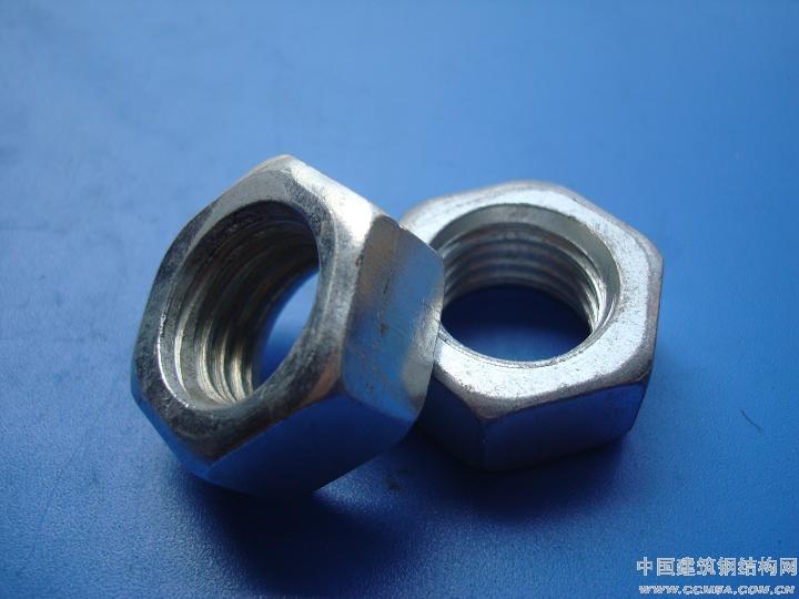 供应钢结构用螺母(镀锌螺母)GB52/GB41
