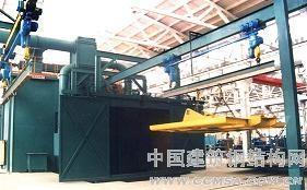 专业供应大型构件吊钩通过式抛丸清理机