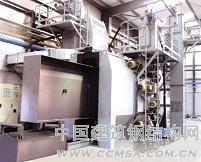 专业供应大型构件平车通过式抛丸清理机