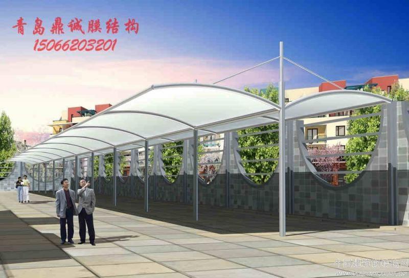 膜结构停车棚膜结构休闲亭膜结构遮阳棚膜结构