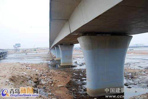 青岛跨海大桥6月通车 最新航拍图首家公布
