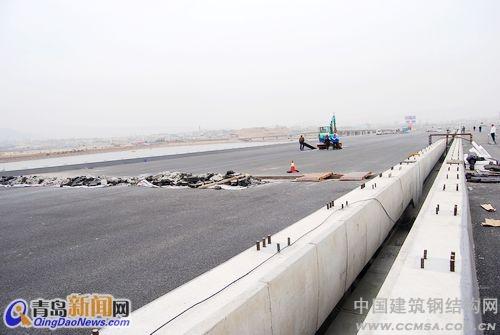 青岛跨海大桥6月通车 最新航拍图首家公布_钢结构行业
