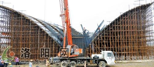 桥墩钢结构架子