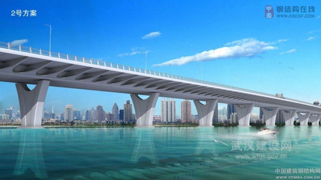 全国最长步行街 武汉最长人工河 最长跨湖大桥图片