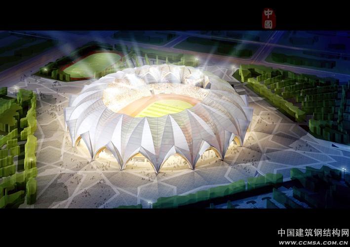"""宁夏""""小鸟巢""""竣工在望_钢结构行业新闻_建筑钢结构网"""