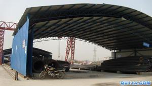 钢结构弧形棚安装 市场棚安装