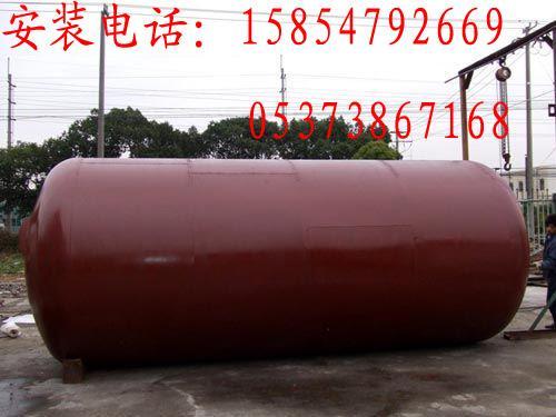 卧式油罐安装 卧式油罐制作