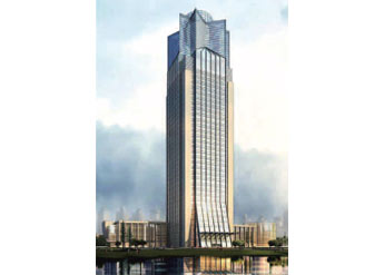 中通钢构经典工程-甘肃省电力公司调度通讯楼