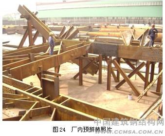 全栓钢结构超高层建筑广州珠江城烟草大厦的加工制作