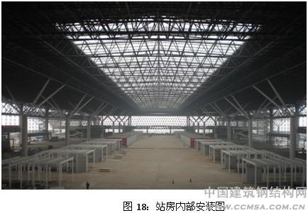 郑州东站站房钢结构施工技术