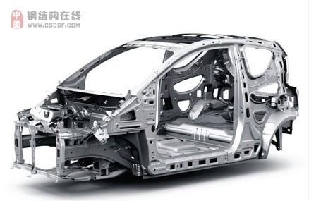 车身结构钢结构视图壁纸