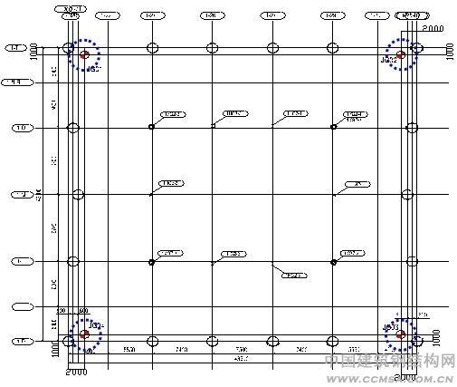 摘 要 安徽国际金融贸易中心超高层--B塔,目前是安徽省已建成第一超高层,钢管柱施工安装精度控制是工程施工质量控制的重点内容之一。合理布设测控网,科学的测控手段结合正确的纠偏手段,并严格按照焊接工艺要求实施焊接,是本工程钢管柱精度控制的着眼点。 关键词 超高层,圆管柱,测量,焊接 1 工程概况 安徽国际金融贸易中心工程位于合肥市中心,北临清碧护城河,南眺繁华闹市,是由一栋26层(A塔)、一栋57层(B塔)的写字楼、5层(局部7层)的商业裙房和3层地下室组成,如图1。其中B塔为一矩形立方体超高层框架-核心筒