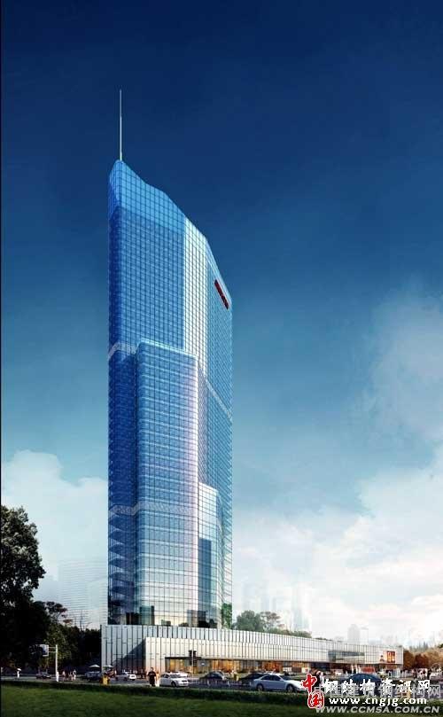 钢结构网首页 -> 三门峡第一高楼起吊中建钢构造又一地市地标 -> 内容