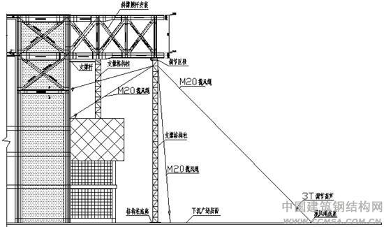 12米x16米钢结构钢梁设计图