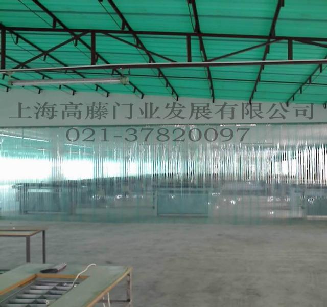 上海高藤门业供应透明PVC门帘