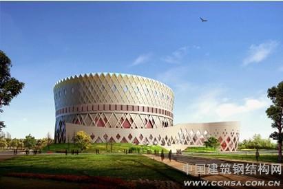 鄂尔多斯民族大剧院钢结构制作施工技术
