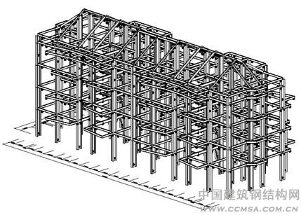 2,节点连接处理       钢结构节点连接处理是详图设计环节