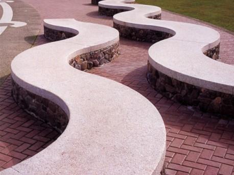环境石凳设计