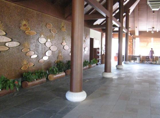 亚龙湾5号酒店大堂设计