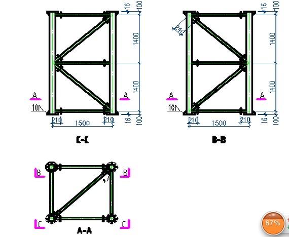 金环钢构出租体育场馆和桥梁支架