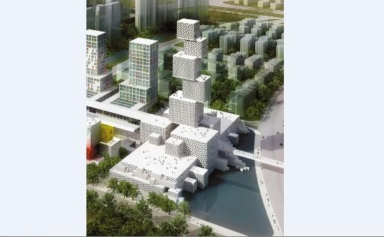 佛山市公共文化综合体之坊塔项目