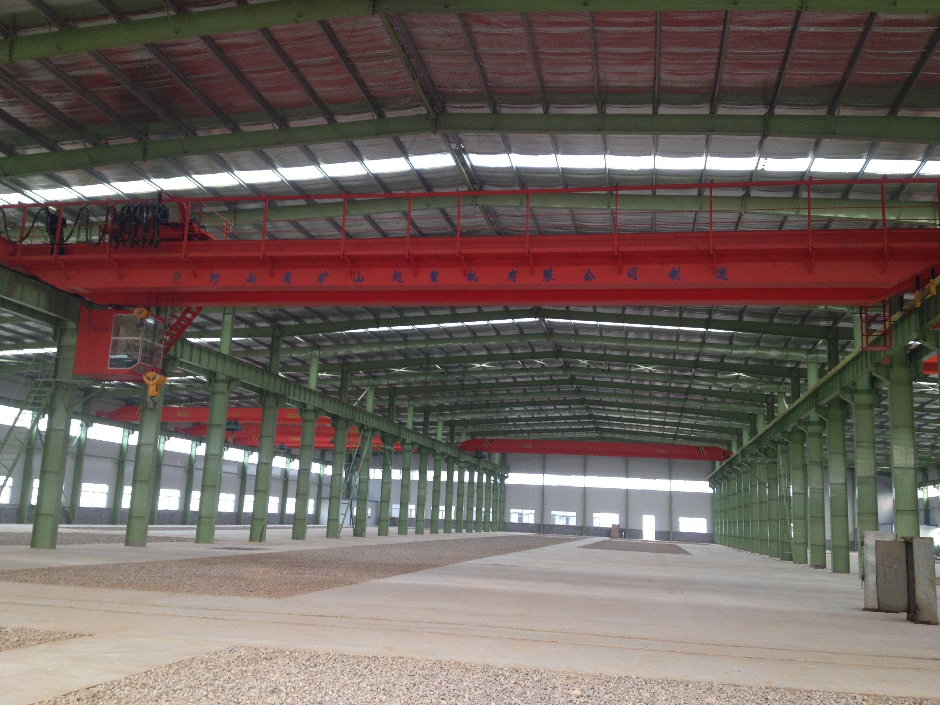 山西天一建工鋼結構工程有限公司廠區内景