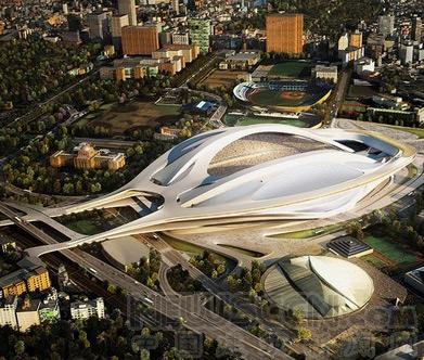 日本建筑师联名质疑扎哈设计的2020东京奥运体育场