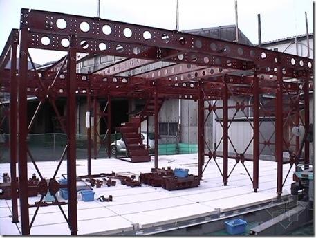 日本钢结构住宅建造过程