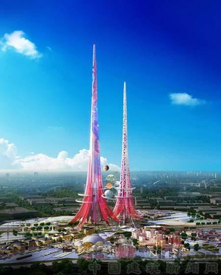 """盘点欲建成的""""世界第一高楼"""" 均称超越哈利法塔"""
