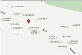 总裁班第二次课住宿路线图(08月27日-08月31日)