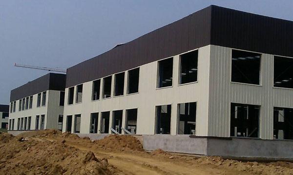 天一美家家居文化创意产业园钢结构厂房