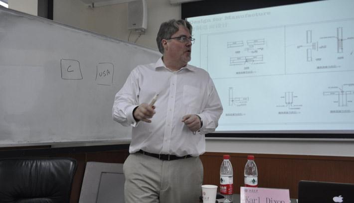 karldixon英国模块化房屋建筑专家为北京大学总裁班学员分享钢结构模块化之路的八大核心要素