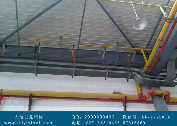 武汉天河机场货运站-钢结构工程