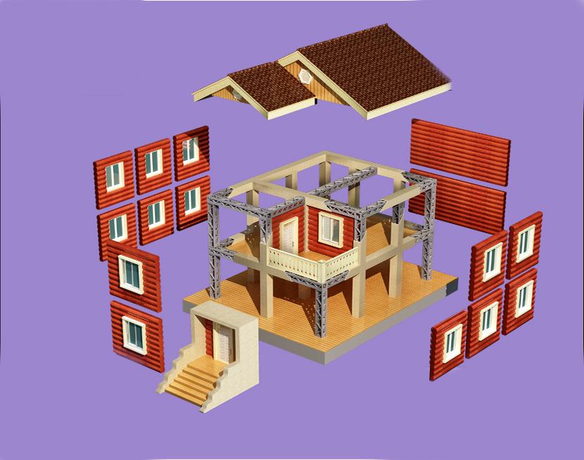 钢结构模块装配式住宅