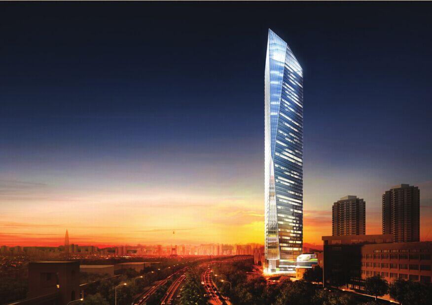 大厦钢结构安装工程