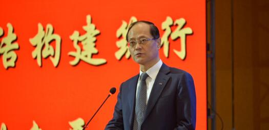 中国网址金属结构协会会长郝际平致辞