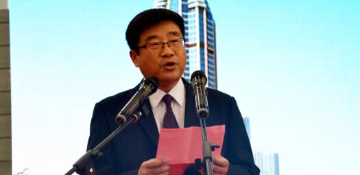 建筑鋼結構分會副會長劉民主持2016年鋼結構及配套博覽會