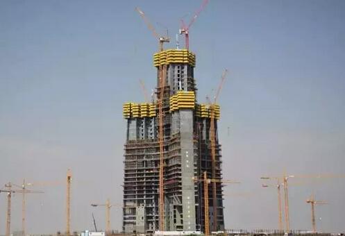 帝王塔位于沙特阿拉伯吉达市
