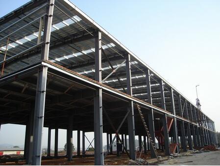 钢结构厂房怎样构造更能抗震?