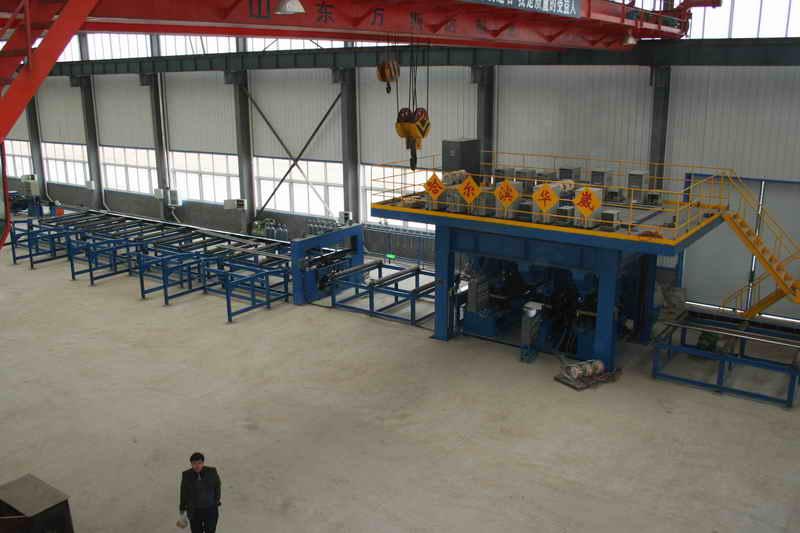 膜式壁管屏焊接生产线
